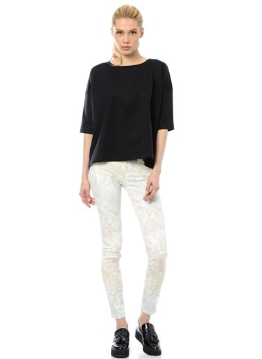 7 For All Mankind Jean Pantolon Pudra